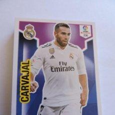 Cromos de Fútbol: 236 CARVAJAL - REAL MADRID - ADRENALYN XL 2018 - 2019 18 19 - SIN ACTIVAR. Lote 214230927