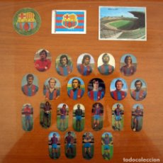 Cromos de Fútbol: BARCELONA - LOTE DE 25 CROMOS, TODOS LOS PUBLICADOS - EDITORIAL MAGA LIGA 1975-1975, 75-76. Lote 214326018