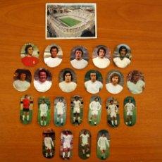 Cromos de Fútbol: REAL MADRID - LOTE DE 23 CROMOS - EDITORIAL MAGA LIGA 1975-1975, 75-76. Lote 214326282