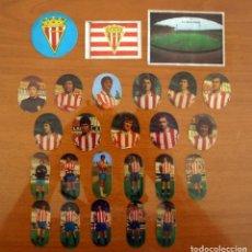 Cromos de Fútbol: SPORTING DE GIJÓN - LOTE DE 25 CROMOS, TODOS LOS PUBLICADOS - EDITORIAL MAGA LIGA 1975-1975, 75-76. Lote 214328561
