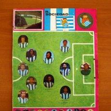 Cromos de Fútbol: REAL SOCIEDAD - LOTE DE 25 CROMOS, TODOS LOS PUBLICADOS - EDITORIAL MAGA LIGA 1975-1975, 75-76. Lote 214328912
