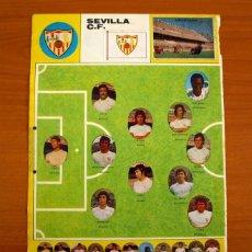 Cromos de Fútbol: SEVILLA - LOTE DE 25 CROMOS, TODOS LOS PUBLICADOS - EDITORIAL MAGA LIGA 1975-1975, 75-76. Lote 214329395