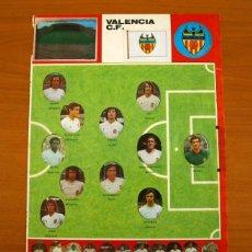 Cromos de Fútbol: VALENCIA - LOTE DE 25 CROMOS, TODOS LOS PUBLICADOS - EDITORIAL MAGA LIGA 1975-1975, 75-76. Lote 214329440