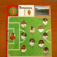 Cromos de Fútbol: REAL ZARAGOZA - LOTE DE 25 CROMOS, TODOS LOS PUBLICADOS - EDITORIAL MAGA LIGA 1975-1975, 75-76. Lote 214329560