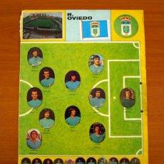 Cromos de Fútbol: REAL OVIEDO - LOTE DE 25 CROMOS, TODOS LOS PUBLICADOS - EDITORIAL MAGA LIGA 1975-1975, 75-76. Lote 214330001