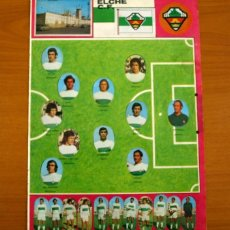 Cromos de Fútbol: ELCHE C.F. - LOTE DE 25 CROMOS, TODOS LOS PUBLICADOS - EDITORIAL MAGA LIGA 1975-1975, 75-76. Lote 214330243