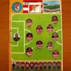 Cromos de Fútbol: GRANADA C.F. - LOTE DE 25 CROMOS, TODOS LOS PUBLICADOS - EDITORIAL MAGA LIGA 1975-1975, 75-76. Lote 214330347