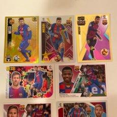 Cromos de Fútbol: LEO MESSI 6 STICKERS + ANSU FATI STICKER ROOKIE 2019 - LIGA ESTE PANINI ( NUNCA PEGADOS ).. Lote 237090435