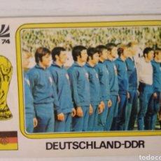 Cromos de Fútbol: REPÚBLICA DEMOCRÁTICA ALEMANA COPA DEL MUNDO MUNICH 74'. NO?WORLD CUP STORIES (ES ORIGINAL DEL 74'). Lote 213368422