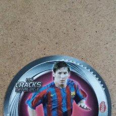 Cromos de Fútbol: ESTE 2006 2007 06 07 - LOS CRACKS DE LA LIGA - NOCILLA - MESSI - FC. BARCELONA ( NUNCA PEGADO ). Lote 214508838