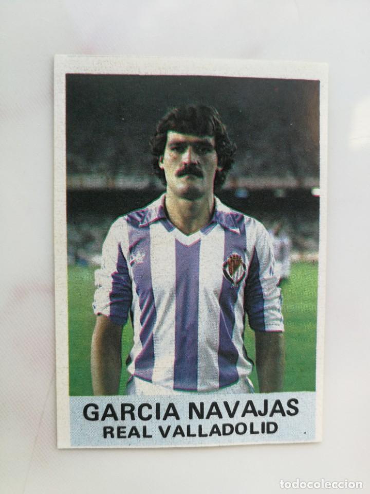 CROMO ANTIGUO, GARCIA NAVAJAS, REAL VALLADOLID, NUEVO (Coleccionismo Deportivo - Álbumes y Cromos de Deportes - Cromos de Fútbol)