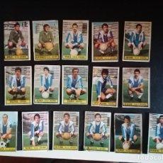 Cromos de Fútbol: LIGA ESTE 74/75 1974/75 LOTE DE 16 CROMOS DEL ESPAÑOL RECUPERADOS. Lote 214951226