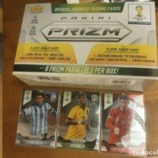 Cromos de Fútbol: PANINI PRIZM WORLD CUP 2014 MUNDIAL BRASIL COMPLETA SET 201 CARD FULL COMPLETA MESSI RONALDO ROOKIE. Lote 215002850