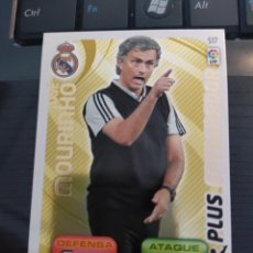 Figurine di Calcio: 517 JOSE MOURINHO REAL MADRID PLUS ENTRENADOR ADRENALYN XL 2011 2012 11 12 NUEVO PERFECTO ESTADO. Lote 215096081