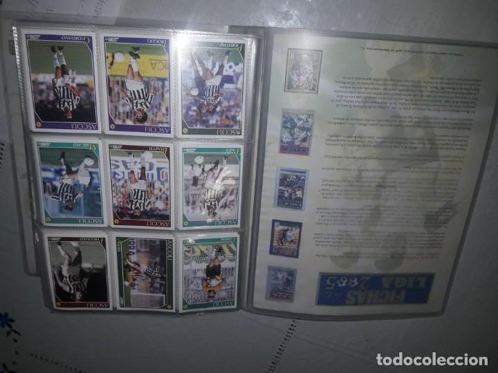 COLECCION LIGA ITALIANA DEL 91 (Coleccionismo Deportivo - Álbumes y Cromos de Deportes - Cromos de Fútbol)