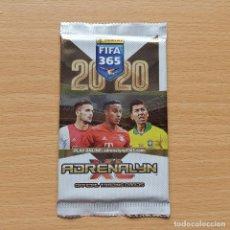 Cromos de Fútbol: SOBRE SIN ABRIR VERSION 2 FIFA 365 2020 2019 19 20 TIAGO BAYER DE MUNICH ADRENALYN XL PANINI PACKETS. Lote 215162292