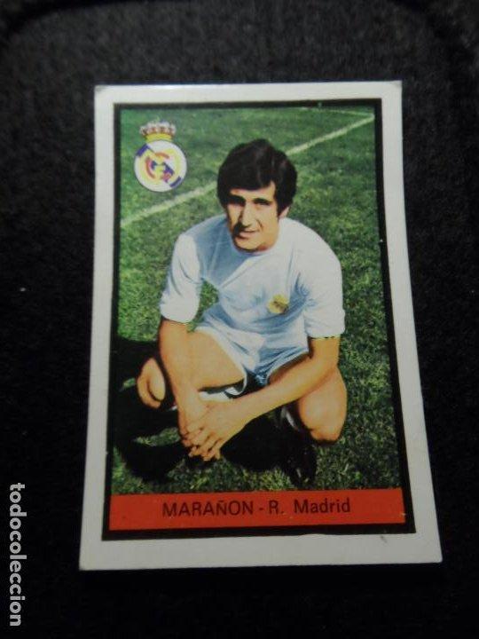 MARAÑON DEL REAL MADRID ALBUM FHER TEMPORADA LIGA 1972 - 1973 ( 72- 73 ) (Coleccionismo Deportivo - Álbumes y Cromos de Deportes - Cromos de Fútbol)