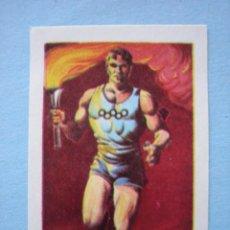 Cromos de Fútbol: RUIZ ROMERO 1965 CAMPEONATOS NACIONALES FUTBOL 1964-65 OLIMPIADA TOKIO 1964 CROMO Nº 4 NUNCA PEGADO. Lote 215296532