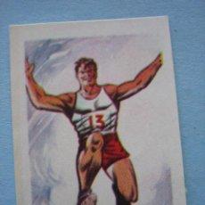 Cromos de Fútbol: RUIZ ROMERO 1965 CAMPEONATOS NACIONALES FUTBOL 1964-65 OLIMPIADA TOKIO 1964 CROMO Nº 9 NUNCA PEGADO. Lote 215296673