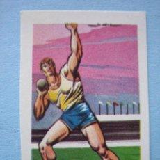 Cromos de Fútbol: RUIZ ROMERO 1965 CAMPEONATOS NACIONALES FUTBOL 1964-65 OLIMPIADA TOKIO 1964 CROMO Nº 18 NUNCA PEGADO. Lote 215296891