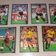 Cromos de Fútbol: LOTE MUNDICROMO LIGA 2004 (03 04), 7 BAJAS DIFÍCILES. Lote 215299458