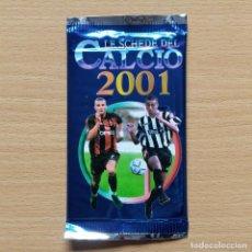 Cromos de Fútbol: SOBRE SIN ABRIR CALCIO LIGA ITALIA SHEVCHENKO MILAN / TREZEGUET JUVENTUS MUNDICROMO 2000 2001 00 01. Lote 215341242