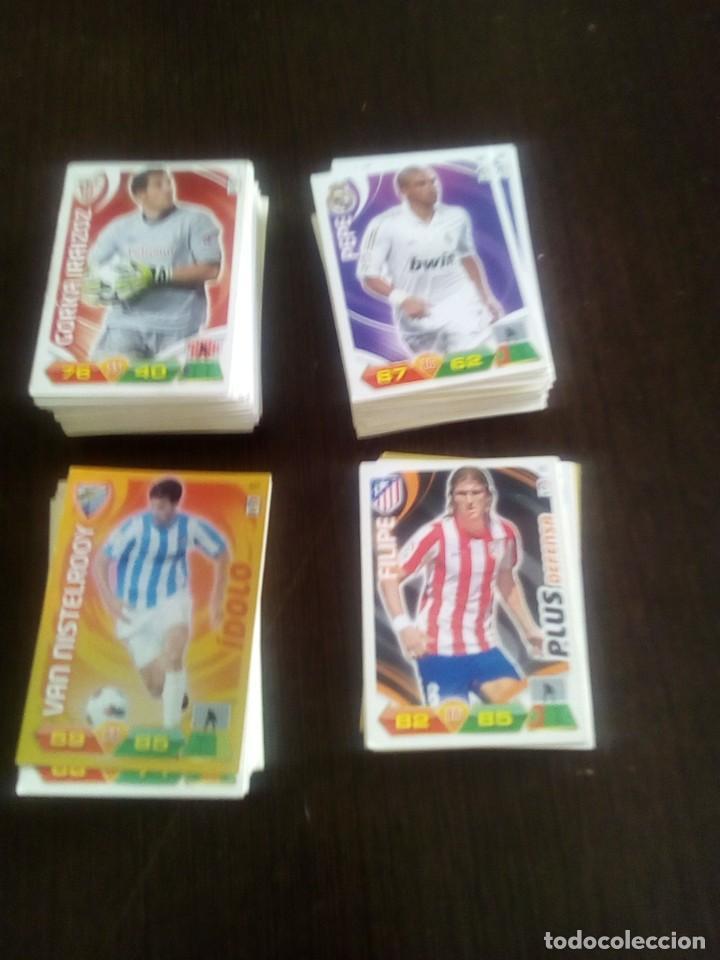 LOTE DE 195 CARDS SIN REPETIR ADRENALYN XL 2011-12 CARDS 11-12 (Coleccionismo Deportivo - Álbumes y Cromos de Deportes - Cromos de Fútbol)