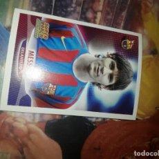 Cromos de Fútbol: MESSI SUPER BARCA 2005-06 NUEVO. Lote 215637816