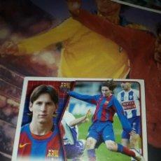 Cromos de Fútbol: MESSI NUEVO SIN PEGAR LIGA 2005-06 DE ESTE. Lote 215637967