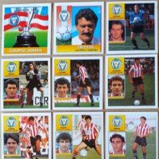 Cromos de Fútbol: ESTE - LIGA 92/93 - 1992 1993 - LOTE 11 CROMOS C.D. LOGROÑES. Lote 215809278