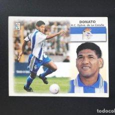 Figurine di Calcio: DEP DONATO DEPORTIVO DE LA CORUÑA 1999 2000 99 00 ESTE SIN PEGAR NUNCA. Lote 215910848