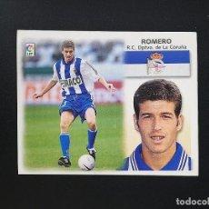 Figurine di Calcio: DEP ROMERO DEPORTIVO DE LA CORUÑA 1999 2000 99 00 ESTE SIN PEGAR NUNCA. Lote 215910932