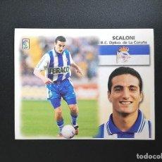 Figurine di Calcio: DEP SCALONI DEPORTIVO DE LA CORUÑA 1999 2000 99 00 ESTE SIN PEGAR NUNCA. Lote 215910948