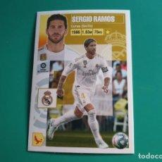 Cromos de Fútbol: 7 SERGIO RAMOS - REAL MADRID - EDICIONES ESTE 2020-21 - 20/21 (NUEVO). Lote 269730133