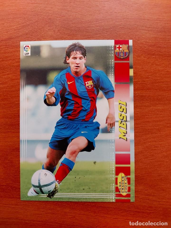 MEGACRACKS 04 LIONEL MESSI ROOKIE CARD 71 BIS MEGA CRACK 2004 (Coleccionismo Deportivo - Álbumes y Cromos de Deportes - Cromos de Fútbol)