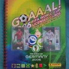 Cromos de Fútbol: PANINI GOAAAL! 2006 COMPLETA #MESSI #RONALDO. Lote 216672370