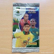 Cromos de Fútbol: SOBRE SIN ABRIR NEYMAR FC BARCELONA ADRENALYN XL PANINI WORLD CUP 14 MUNDIAL BRASIL 2014 PACKET. Lote 216878028