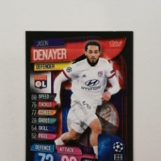 Cartes à collectionner de Football: #211 DENAYER OLYMPIQUE LYONNAIS 2019 2020 TOPPS MATCH ATTAX 19 20 CHAMPIOS LEAGUE. Lote 216950486