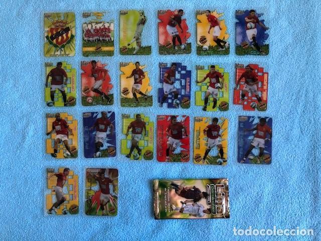 EQUIPO COMPLETO GIMNASTIC 20 CROMOS CRYSTALCARDS SUPERSTAR 2006 - 2007 LEER DESCRIPCION C8 (Coleccionismo Deportivo - Álbumes y Cromos de Deportes - Cromos de Fútbol)