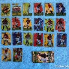 Cromos de Fútbol: EQUIPO COMPLETO GIMNASTIC 20 CROMOS CRYSTALCARDS SUPERSTAR 2006 - 2007 LEER DESCRIPCION C8. Lote 217019292