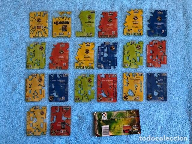 Cromos de Fútbol: EQUIPO COMPLETO GIMNASTIC 20 CROMOS CRYSTALCARDS SUPERSTAR 2006 - 2007 LEER DESCRIPCION C8 - Foto 2 - 217019292