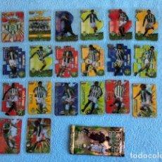 Cromos de Fútbol: EQUIPO COMPLETO BETIS 20 CROMOS CRYSTALCARDS SUPERSTAR 2006 - 2007 LEER DESCRIPCION C8. Lote 217083230