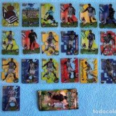 Cromos de Fútbol: EQUIPO COMPLETO REAL SOCIEDAD 19 CROMOS CRYSTALCARDS SUPERSTAR 2006 - 2007 LEER DESCRIPCION C8. Lote 217084008