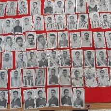 Cromos de Fútbol: LOTE 80 CROMOS FUTBOL LIGA 1956 1957 56 57 ED. BRASIL NUNCA PEGADOS VER ADICIONALES ORIGINALES , L80. Lote 217145902