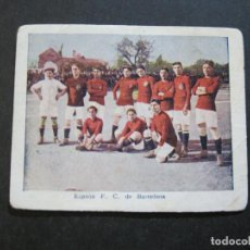 Cromos de Fútbol: ESPAÑA FC DE BARCELONA-CROMO DE FUTBOL ANTIGUO-CHOCOLATE AMATLLER-VER FOTOS-(K-150). Lote 217263268