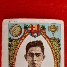 Cromos de Fútbol: CROMO FUTBOL ANTIGUO ALCANTARA DEL BARCELONA ORIGINAL CR10. Lote 217351725