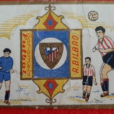 Cromos de Fútbol: CROMO FUTBOL ANTIGUO ATHLETIC ATLETICO DE BILBAO CARAMELO FUTBOL ORIGINAL CR10. Lote 217353552