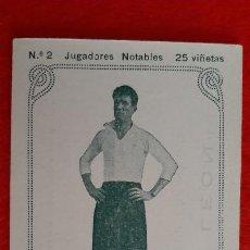 Cromos de Fútbol: CROMO FUTBOL ANTIGUO JUGADOR REYES DEL VALENCIA JUGADORES NOTABLES ORIGINAL CR10. Lote 217353797