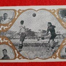 Cromos de Fútbol: CROMO FUTBOL ANTIGUO PARTIDO REAL UNION BARCELONA ORIGINAL CR10. Lote 217354120