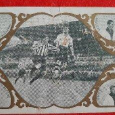 Cromos de Fútbol: CROMO FUTBOL ANTIGUO PARTIDO ATLETIC DE BILBAO EUROPA ORIGINAL CR10. Lote 217356052